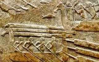 Storia: archeologia navale  cavallo di troia