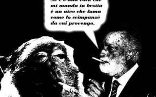 Satira: eugenio scalfari  ateismo