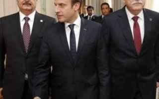 dal Mondo: libia  macron  italia  francia