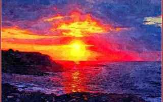 crepuscolo  heinrich heine  tramonto