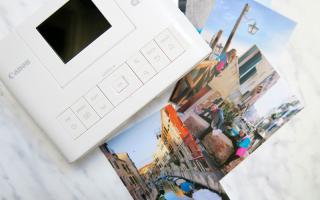 canon  stampante  wireless  fotografia