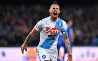 Serie A: calcio  marek hamsik  napoli