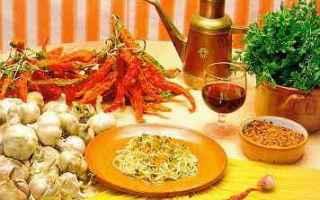olio  pasta  peperoncino  aglio