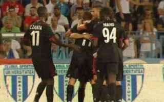 Europa League: europa league  milan  craiova  video gol