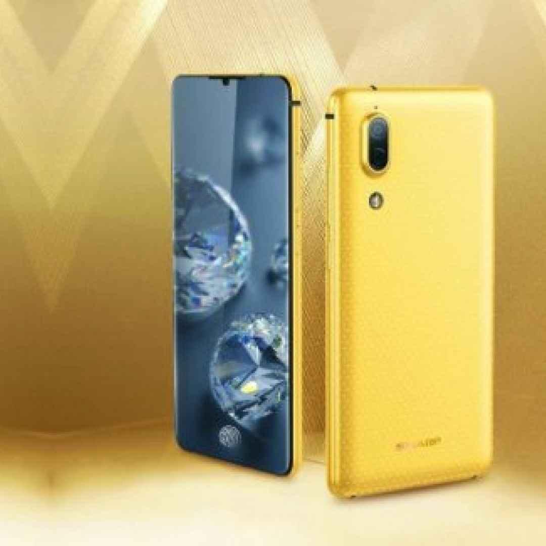 aquos s2  smartphone  senza cornici