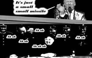 Satira: corea del nord  trump  kim jong-un