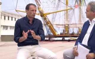 Calcio: juventus  allegri calcio  milan  news