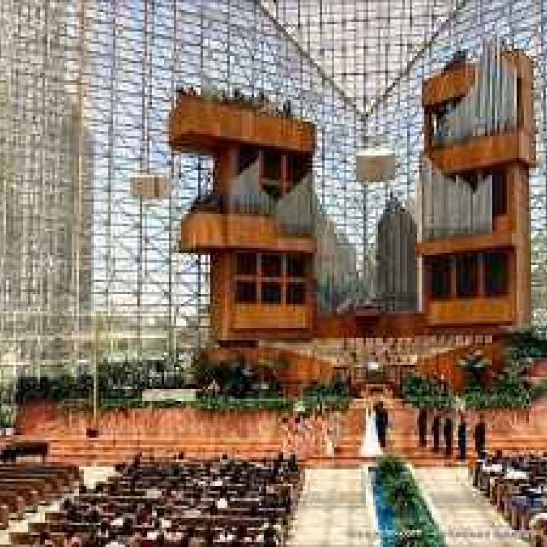 cattedrale di cristallo  chiesa