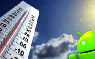 App: termometro  android  app  temperatura