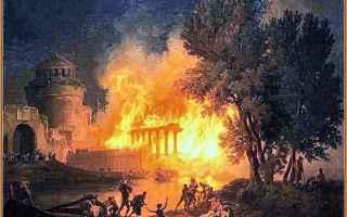imperatore  incendio  nerone  ottavia