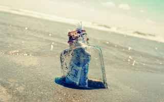 Amore e Coppia: anime gemelle  messaggi bottiglia