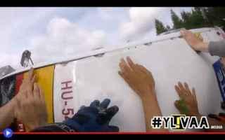 Motori: gare  rally  incidenti  curve  finlandia