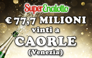 jackpot  superenalotto  caorle