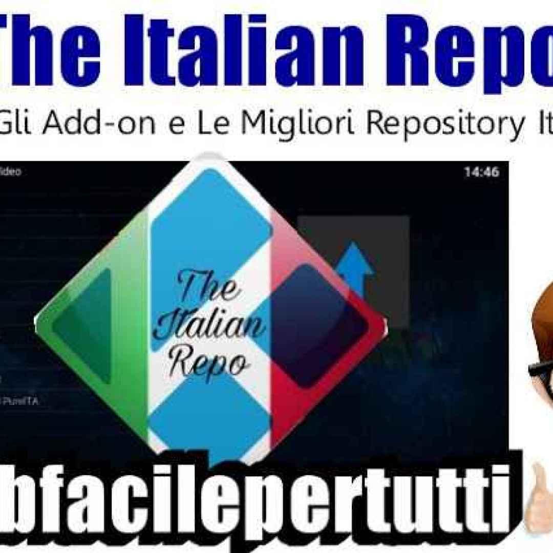 the italian repo kodi addon