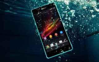 Cellulari: bagnato smartphone acqua