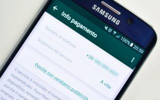 Sicurezza: whatsapp  truffa  account gratuito