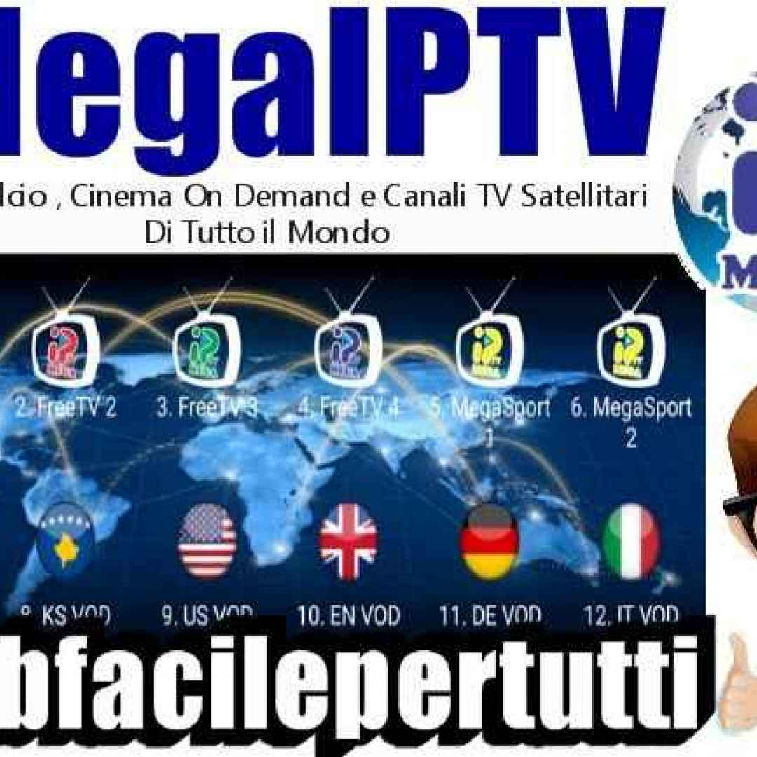 megaiptv  iptv  app  streaming  gratis