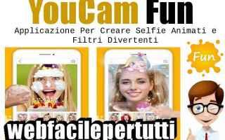App: youcam fun  selfie app