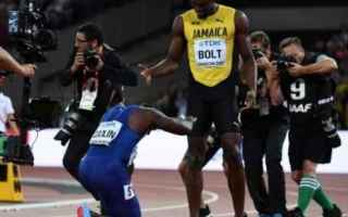 bolt  gatlin  atletica  sport  news