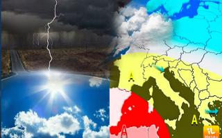 Meteo: meteo  ferragosto  caldo  temporali