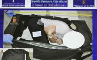 Milano: modella  milano  rapimento