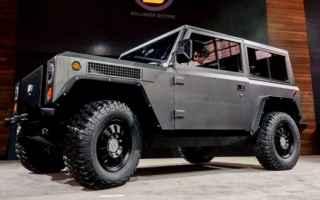 Automobili: bollinger b1  auto  motore elettrico