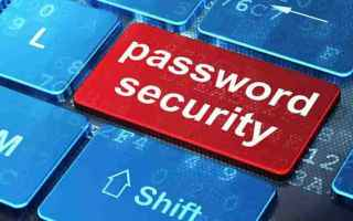 Sicurezza: password  internet  computer  sicurezza