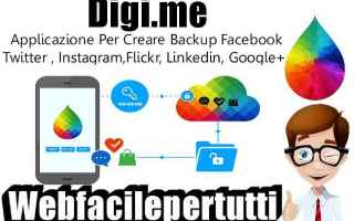 Social Network: digime  app  backup  social