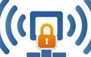 Sicurezza: password  wifi  internet