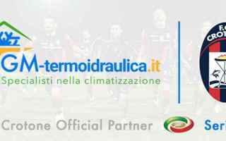 Calcio: gm gm termoidraulica  sponsor  crotone