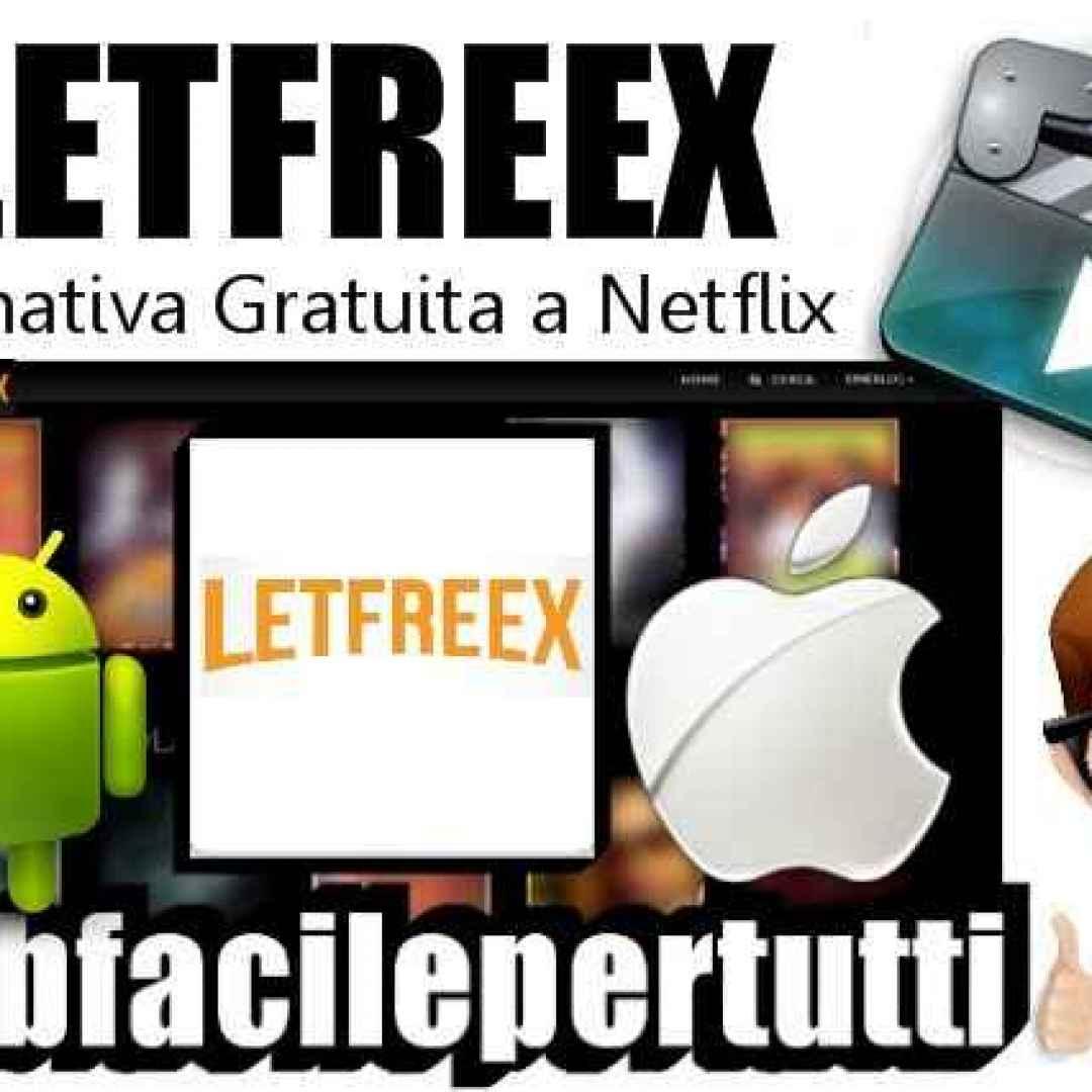 letfreex  streaming  film  serie tv