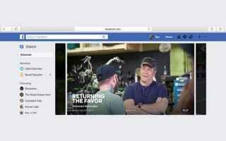 Facebook: facebook  tv  show  watch  social