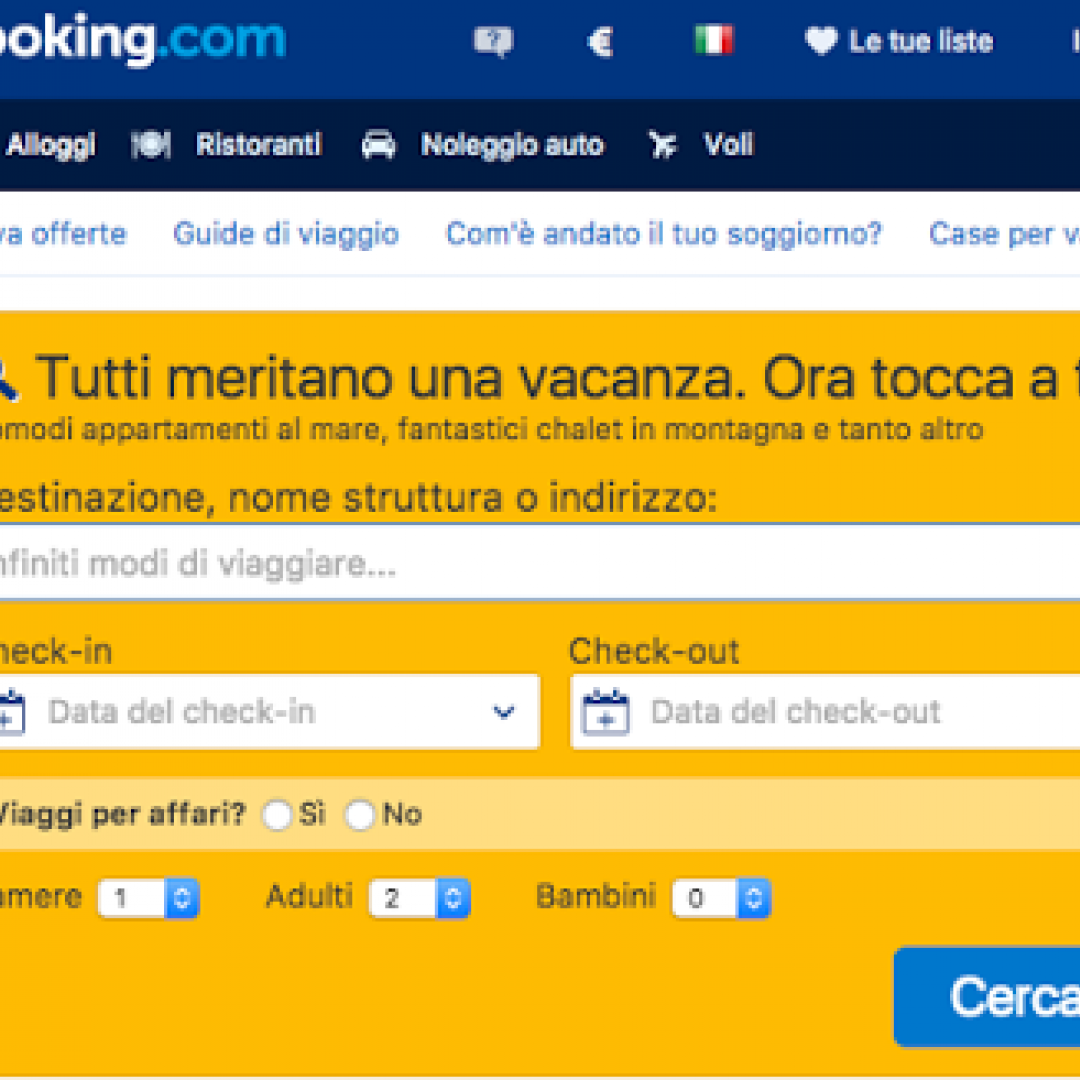 siti simili booking