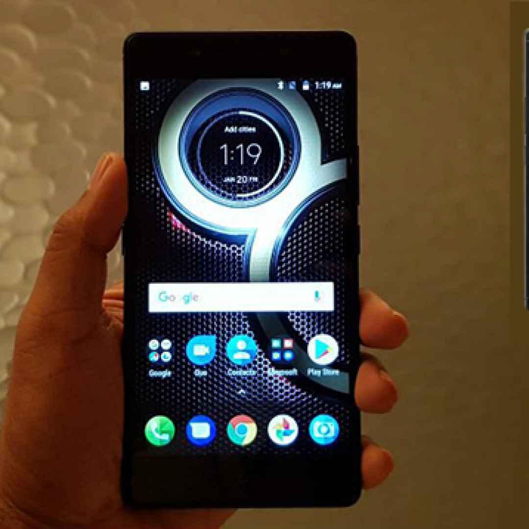 lenovo  smartphone  android
