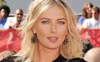 Tennis: tennis grand slam maria sharapova