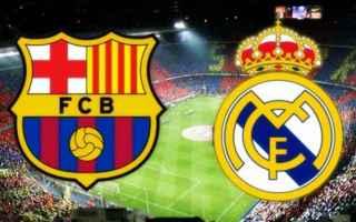 Calcio Estero: barcellona  real madrid
