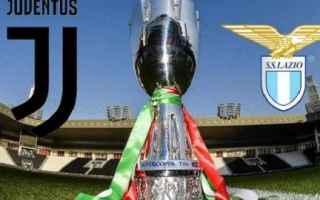 Coppa Italia: juventus  lazio  formazioni ufficiali