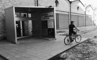 Linstallazione permanente di Christian Boltanski al Museo per la Memoria di Ustica di Bologna circon