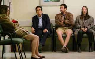 Cinema: the meyerowitz stories  netflix  sandler