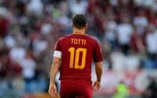 Calcio: totti calcio roma  twitter  francesco