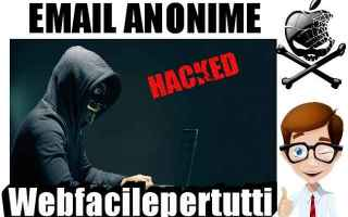 Sicurezza: hack  email  email anonime