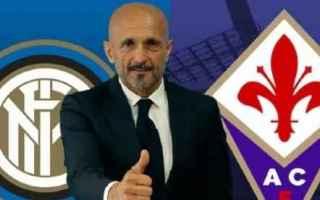 Serie A: inter  fiorentina  serie a