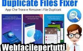 App: duplicate files fixer app
