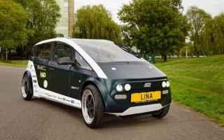 Automobili: lina  auto  carrozzeria biodegradabile