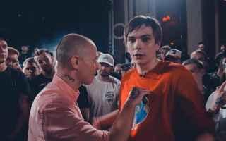 Filmati virali: rap  russia  versus  battle  oxxxymiron