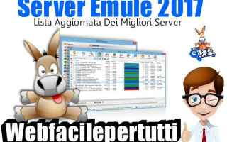 File Sharing: server emule  migliori server emule