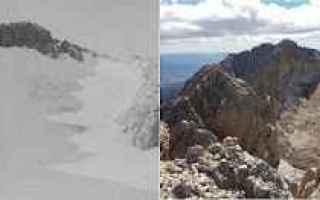 Ambiente: gran sasso  calderone  ghiacciaio