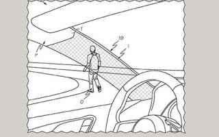 toyota  auto  brevetto  invisibile