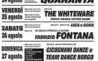 Bologna: castel bolognese  avis  festival