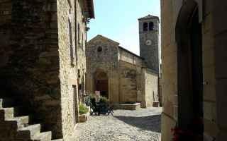 Storia: vigoleno  emilia romagna  san giorgio